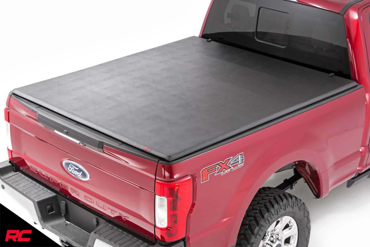 2017 2019 Ford Super Duty F250 8 Ft Tonneau Bed Cover Fits Gator Etx Tri Fold Auto Parts Accessories Auto Parts And Vehicles