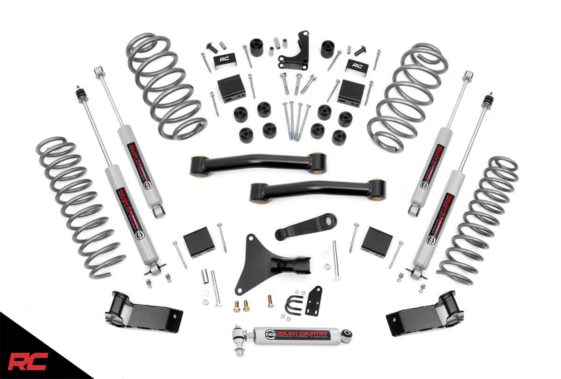 Rough Country 4 Quot Lift Kit Fit 1999 2004 Jeep Grand